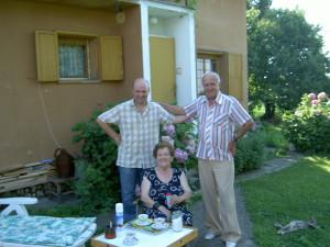 Posjet Milanu i Anđeliji u Čađavici u Bosni, 2005