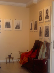 Izložba u Budvi 2008 g.